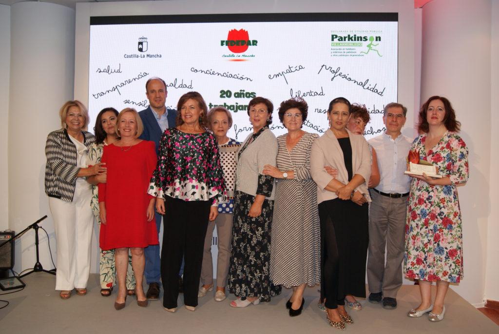 FEDEPAR y Parkinson Villarrobledo entregan la I Edición de Premios FEDEPAR