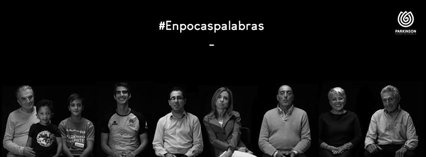 #Enpocaspalabras nueva campaña de sensibilización de la Federación Española de Parkinson